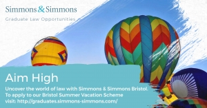 Simmons & Simmons Bristol Vacation Scheme